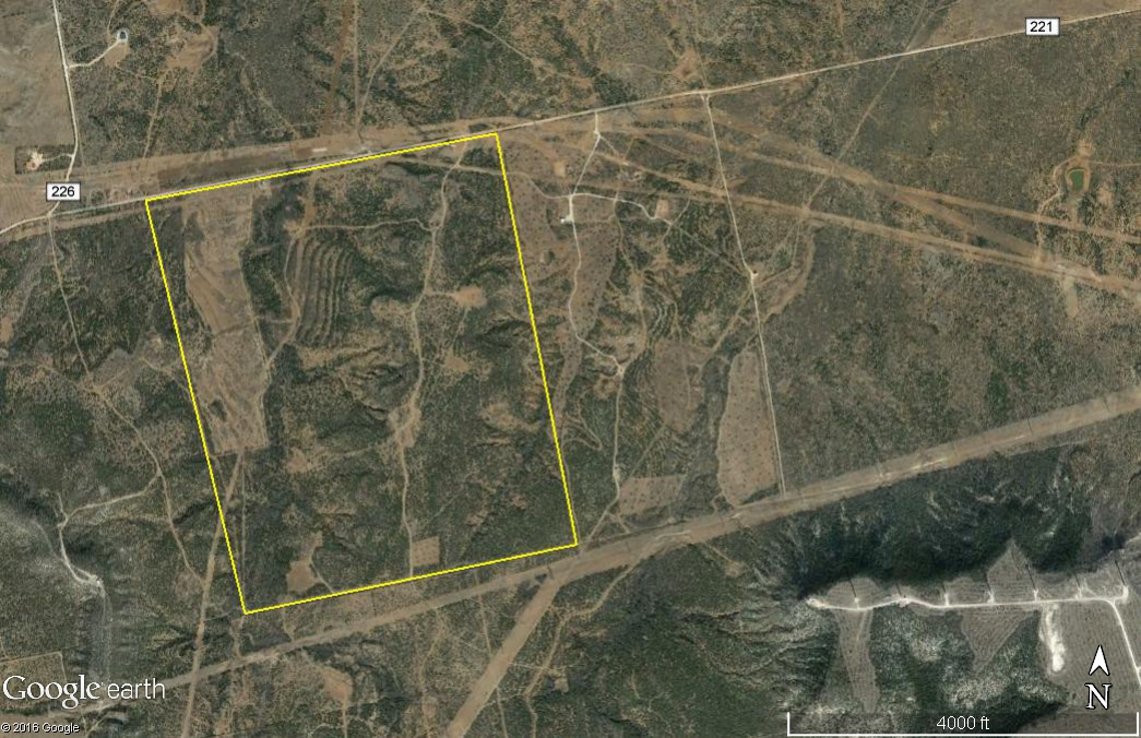 Horny Toad Ranch - 515 ac. aerial