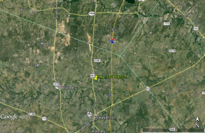 41 AC. Hwy 281 Location