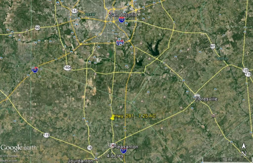 Hwy. 281 - 7.25 ac location