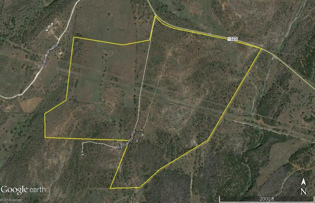 Pedernales Valley 293 aerial