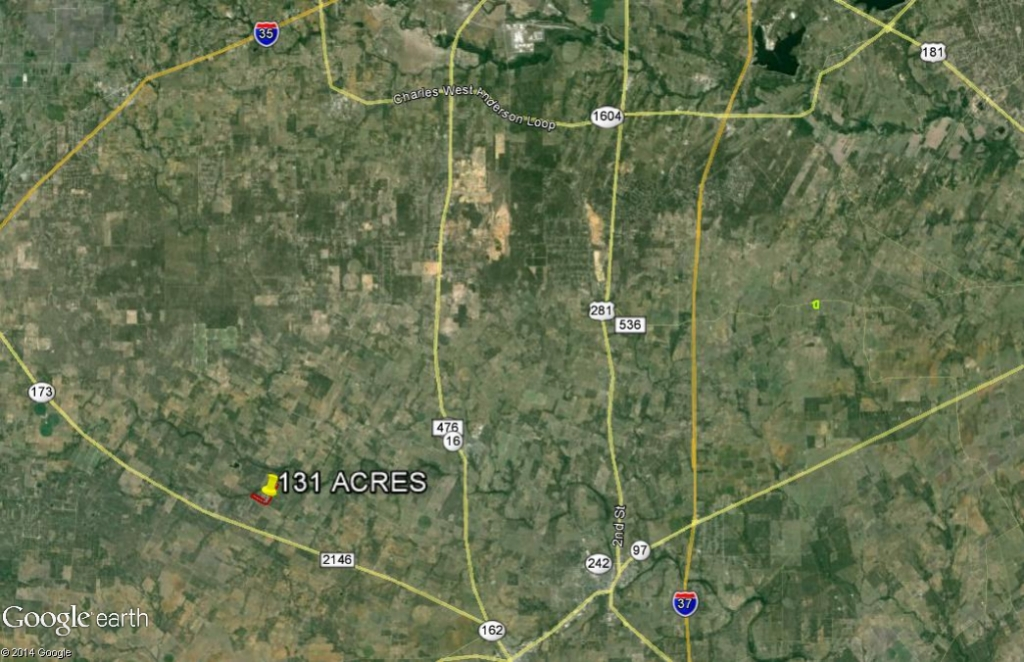 131 Ac. Hoffman location aerial