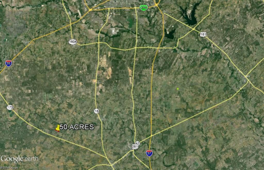 50 Ac. Hoffman location aerial