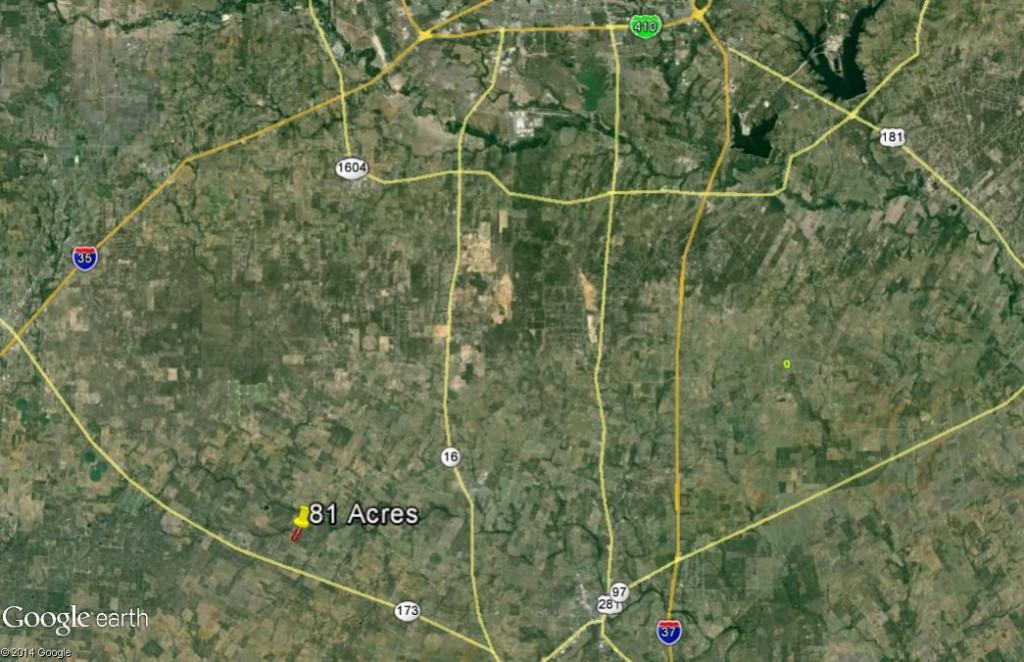 81 Ac. Hoffman Location Aerial