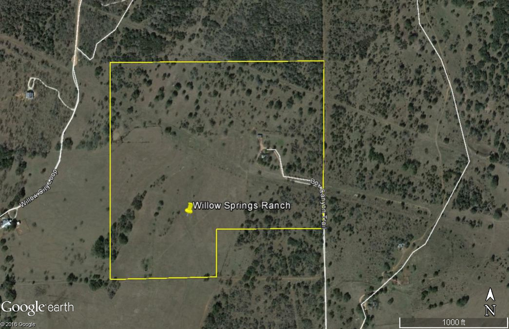 Willow Springs 89 ac. aerial